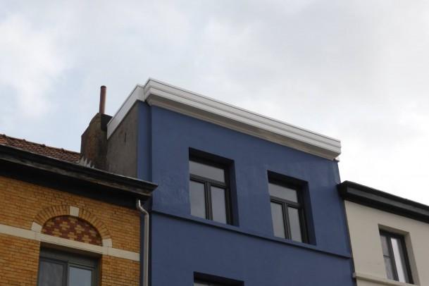 Isoleren plat dak en afdichten met EPDM
